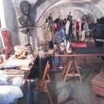 Visita alla galleria - studenti liceo artistico Ascoli Piceno