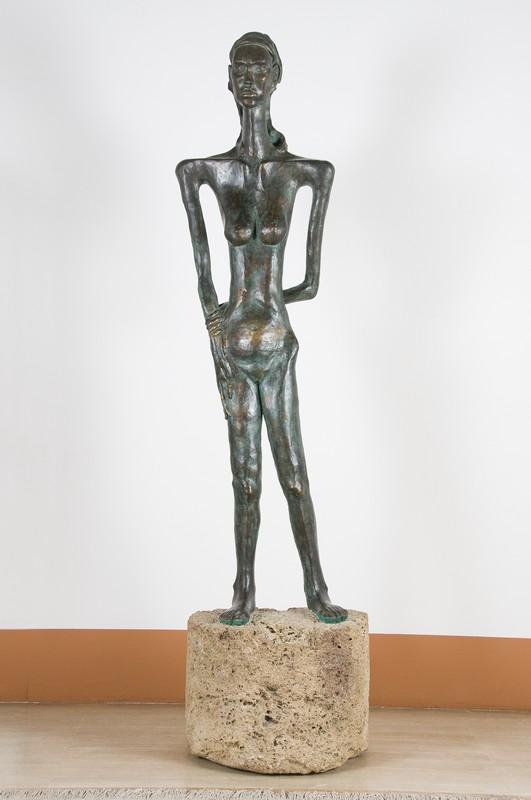 Grande Attesa 1993 – bronzo- h cm. 240