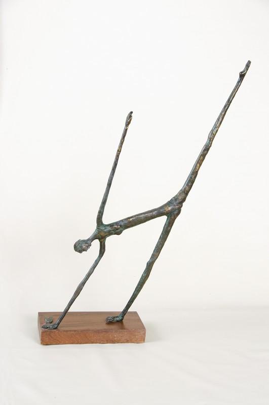 Ginnasta 1992 -bronzo - h cm 108x33