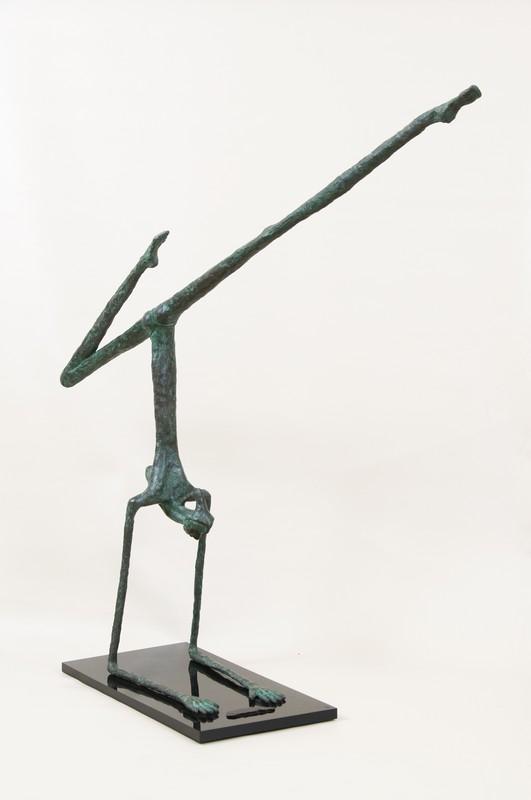 Ginnasta 1995 -bronzo - cm 110x120