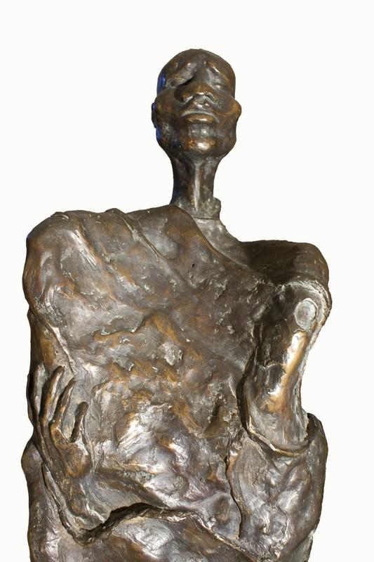 Viandante 1989 -bronzo - cm 122x22x31