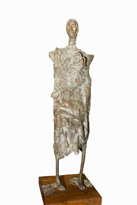 Nefta 1990 -bronzo – cm 127x32x23