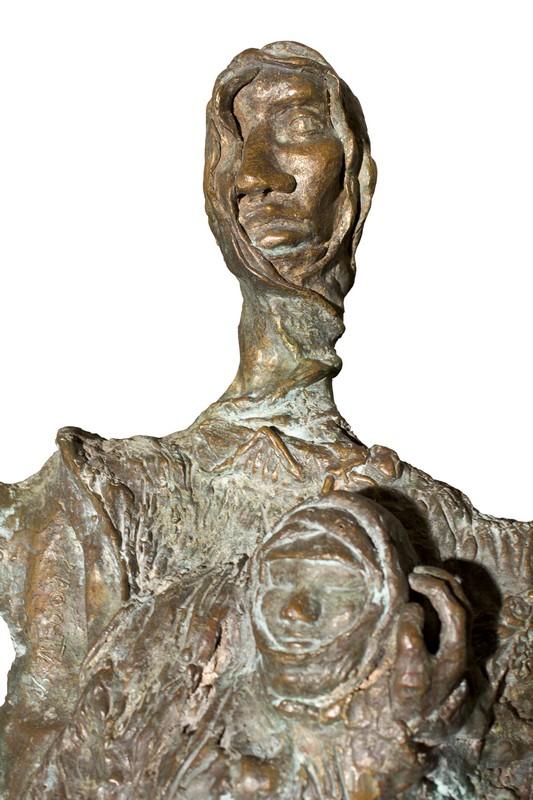 Nefta 1990 – bronzo – particolare