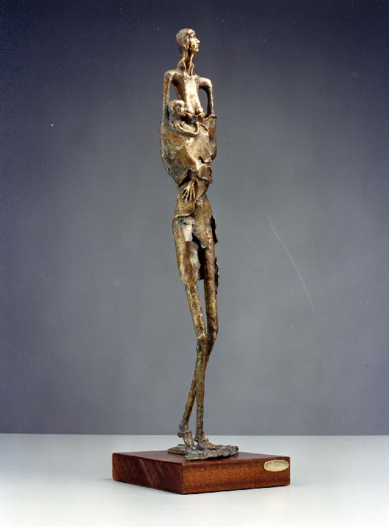 Diaspora 1988 -bronzo - cm 82x14x16