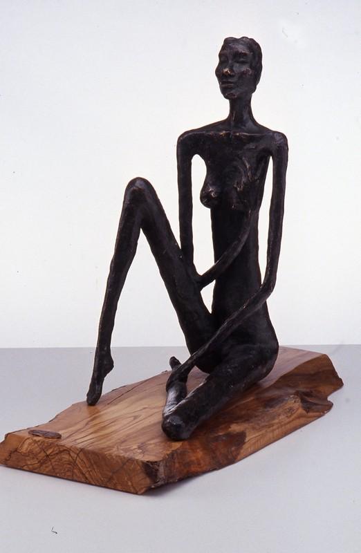 Estasi inizio anni Novanta -bronzo - cm 40x17x29