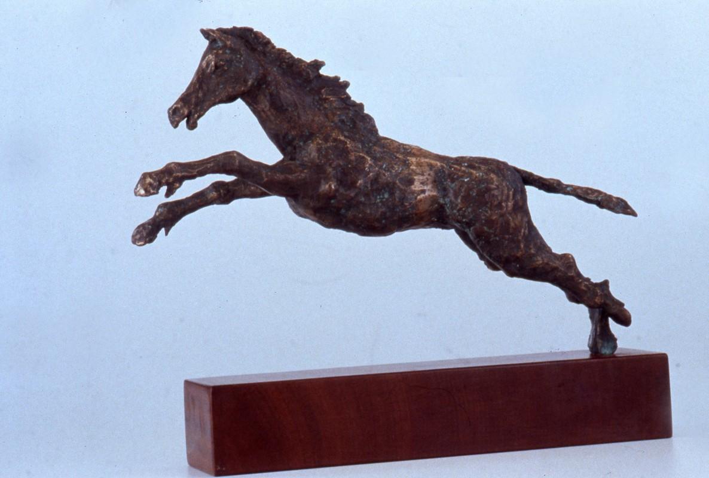 Rapsodia 1987 - bronzo - cm 17x42