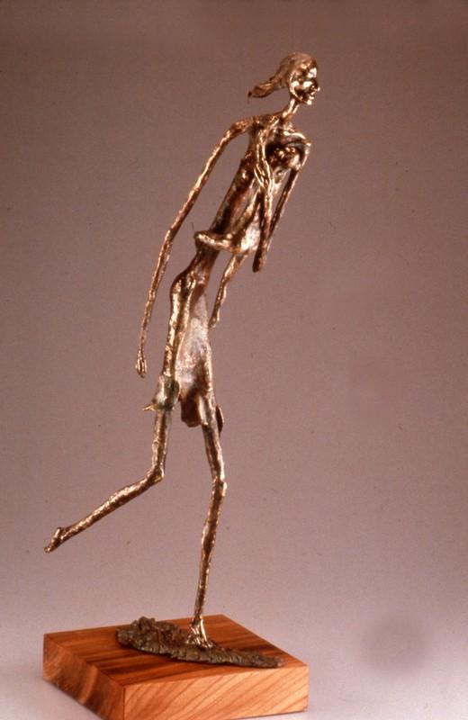 Fuga dal nucleare 1987 - bronzo -h cm 79