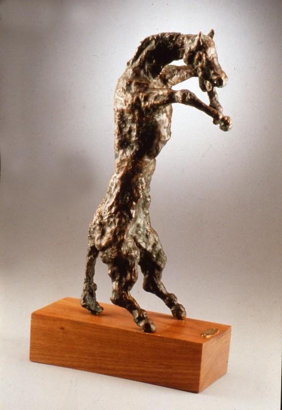 Violenza 1986 -bronzo - cm 50x14x24