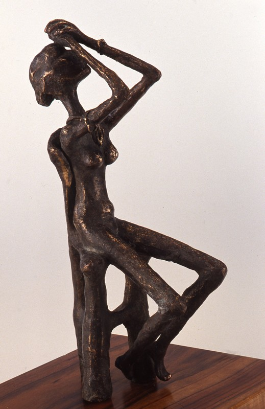 Pensiero 1990 - bronzo -cm 44x13x19