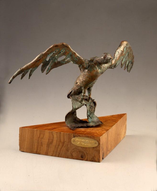 Inquinamento 1985 - bronzo -cm 16x36