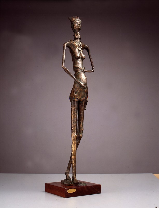 Principessa 1988 -bronzo - h cm 101