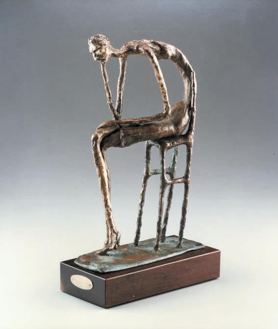 Desolazione 1990 - bronzo cm.36